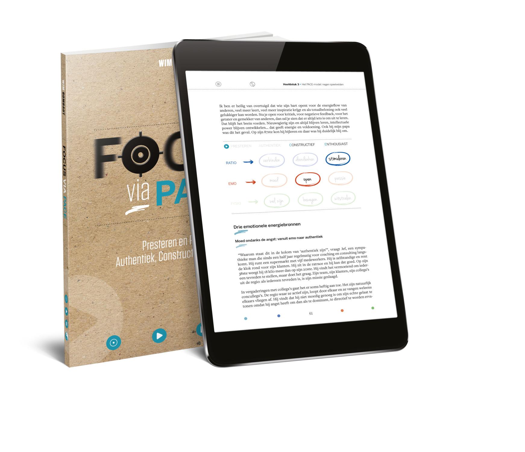 Focus via Pace_boek + tablet